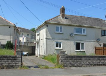 Thumbnail 3 bed semi-detached house for sale in Rhydyrafon, Llanelli