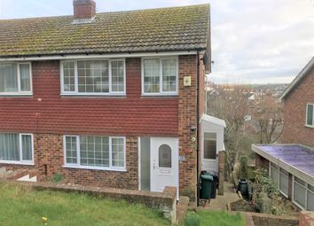Thumbnail 3 bedroom semi-detached house to rent in Lindfield Close, Saltdean, Brighton