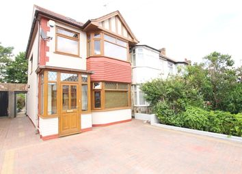 Thumbnail 4 bed semi-detached house for sale in The Fairway, Palmers Green
