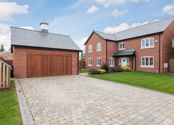 Thumbnail 5 bed detached house for sale in Meadowside, Smallwood, Sandbach