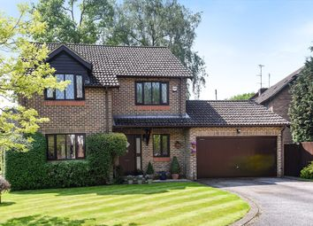 Thumbnail 4 bed detached house for sale in Chivers Drive, Finchampstead