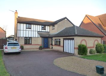 Thumbnail 4 bedroom detached house for sale in Howard Close, Thorpe St. Andrew, Norwich