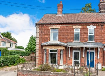 Thumbnail 4 bed end terrace house for sale in Norwich Road, Watton, Thetford