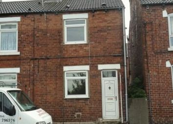 Thumbnail 2 bed property to rent in Hartley Terrace, Featherstone, Pontefract