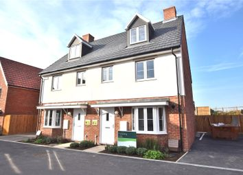 Thumbnail 3 bed semi-detached house for sale in Station Road, Felsted, Dunmow