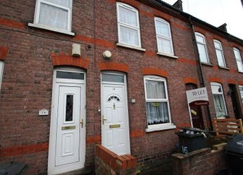 Thumbnail 2 bedroom terraced house to rent in Clifton Road, Luton