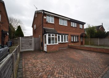 Thumbnail 3 bedroom semi-detached house for sale in Drake Road, Broadheath, Altrincham