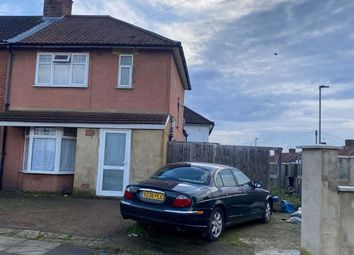 Thumbnail 3 bed semi-detached house for sale in Banstock Road, Edgware, Middlesex