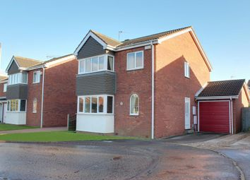 Thumbnail 4 bed detached house for sale in Winscar Croft, Sutton-On-Hull, Hull
