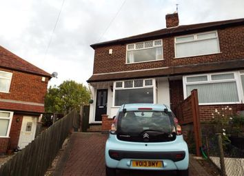 Thumbnail 2 bed semi-detached house for sale in Yvonne Crescent, Carlton, Nottingham