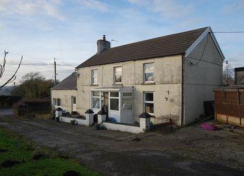 Thumbnail 4 bed detached house for sale in Ebenezer Road, Llanedi, Pontarddulais, Swansea