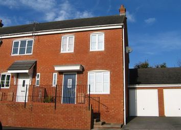 Thumbnail 3 bed semi-detached house to rent in Highland Park, Uffculme, Cullompton