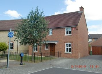 Thumbnail 4 bed detached house to rent in Old Mill Way, Wells