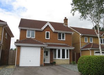 Thumbnail 4 bed detached house for sale in Goodwood Way, Chippenham