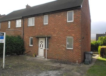 Thumbnail 3 bed semi-detached house to rent in The Avenue, Tankersley, Barnsley
