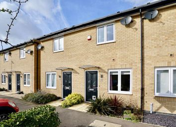 Thumbnail 2 bed terraced house for sale in Meadow Gardens, Huntingdon, Cambridgeshire.