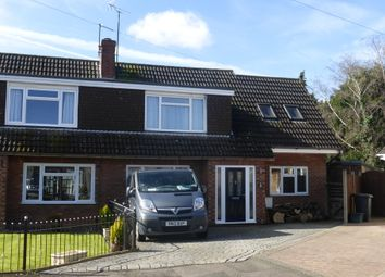 Thumbnail 4 bed semi-detached house for sale in Manor Park, Longlevens, Gloucester