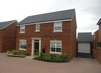 Thumbnail 4 bed detached house to rent in Bran Rose Way, Holmer, Hereford