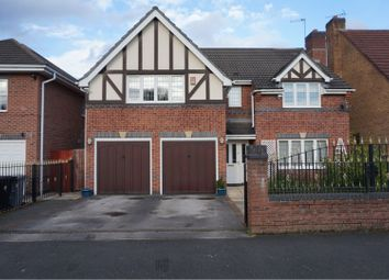 Thumbnail 5 bed detached house for sale in Aimson Road West, Altrincham