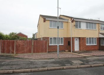 Thumbnail 4 bed semi-detached house for sale in Galloway Close, Barwell, Leicester