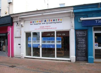 Thumbnail Commercial property to let in Bank Street, Teignmouth, Devon