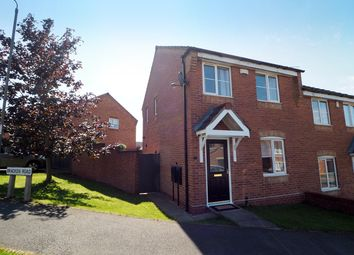 Thumbnail 3 bed semi-detached house to rent in Bracken Road, Shirebrook, Mansfield