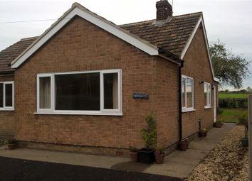 Thumbnail 2 bed detached bungalow to rent in Church Lane, Clarborough, Retford