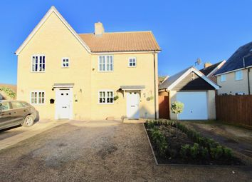 2 bed semi-detached house for sale in Cyprian Rust Way, Soham, Ely CB7