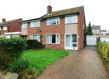 Thumbnail 3 bed semi-detached house for sale in Sidmouth Avenue, Weeping Cross, Stafford