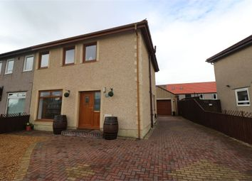 Thumbnail 3 bed semi-detached house for sale in Ruskin Crescent, Buckhaven, Fife
