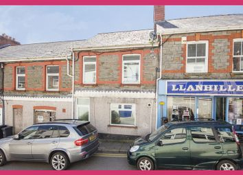 Thumbnail 4 bed terraced house for sale in Commercial Road, Llanhilleth, Abertillery