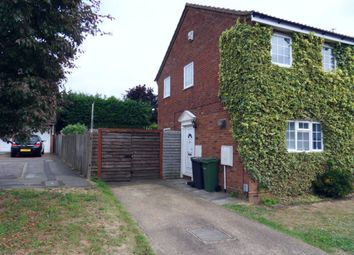 Thumbnail 2 bed semi-detached house to rent in Barnston Close, Luton, Beds
