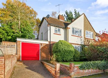 Thumbnail 3 bed semi-detached house for sale in Campbell Road, Weybridge, Surrey