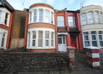 Thumbnail 3 bed flat for sale in Brightwell Avenue, Westcliff-On-Sea, Essex