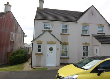 Thumbnail 2 bedroom semi-detached house to rent in Grassmere Way, Pillmere, Saltash