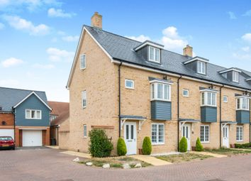 Thumbnail 3 bed end terrace house for sale in Tarver Close, Romsey