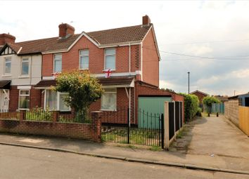 Thumbnail 3 bed end terrace house for sale in Markham Avenue, Carcroft, Doncaster