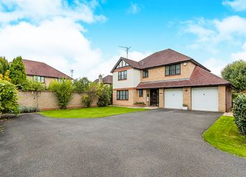 Thumbnail 4 bed detached house for sale in Purbeck Close, Wisbech