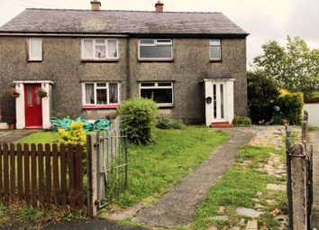 Thumbnail 3 bed semi-detached house for sale in Ffordd Elfed, Bangor