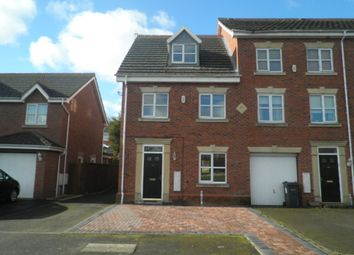 Thumbnail 3 bed town house to rent in Langley Park Way, Sutton Coldfield