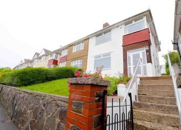 Thumbnail 3 bed semi-detached house for sale in Lon Ger Y Coed, Swansea, West Glamorgan
