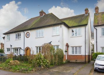 Thumbnail 3 bed semi-detached house for sale in Meadow Way, Letchworth Garden City