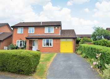 Thumbnail 4 bed detached house for sale in Ruskin Way, Wokingham