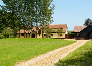 Thumbnail 6 bed barn conversion for sale in Barhams Lane, Carleton Rode, Norwich