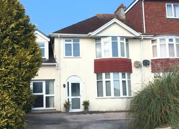 Thumbnail 4 bed semi-detached house for sale in Barton, Torquay, Devon