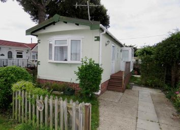 Thumbnail 1 bed mobile/park home for sale in St Hermans Estate, St Hermans Road, Hayling Island
