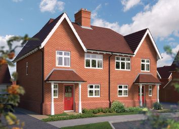 "Thumbnail 4 bed semi-detached house for sale in ""The Salisbury"" at Blunsdon, Swindon"