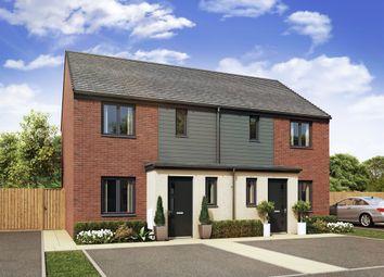 "Thumbnail 3 bed semi-detached house for sale in ""Hanbury "" at Hendon Court, Buckshaw Village, Chorley"