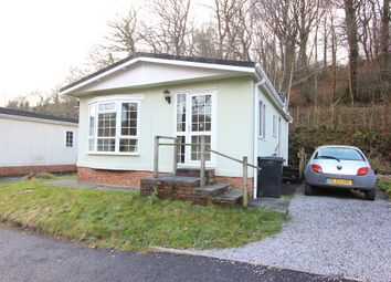 Thumbnail 2 bed mobile/park home for sale in Ashburton Park, Waterleat, Ashburton