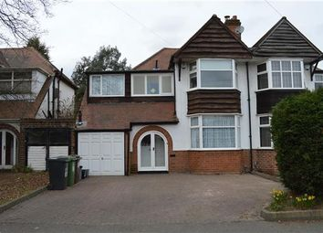 Thumbnail 5 bedroom semi-detached house for sale in Castle Lane, Olton, Solihull